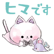 melty cat sticker #11164550