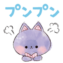 melty cat sticker #11164552