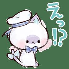 melty cat sticker #11164554