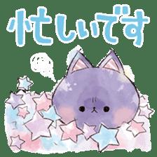 melty cat sticker #11164558