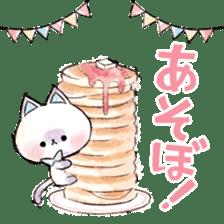 melty cat sticker #11164560
