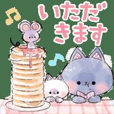 melty cat sticker #11164566