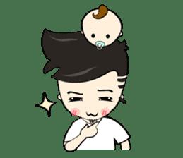 Nursing Daddy (eng. ver) sticker #11169913