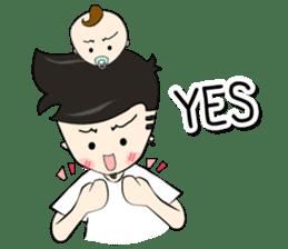 Nursing Daddy (eng. ver) sticker #11169937