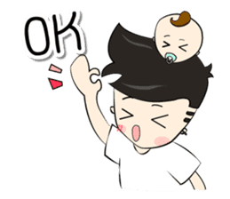 Nursing Daddy (eng. ver) sticker #11169939