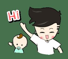 Nursing Daddy (eng. ver) sticker #11169940