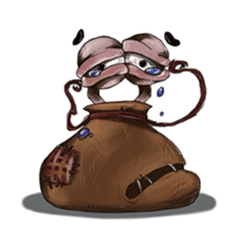 ANGRY BAG MONSTER sticker #11170632