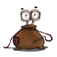 ANGRY BAG MONSTER sticker #11170636