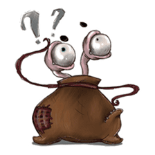 ANGRY BAG MONSTER sticker #11170650