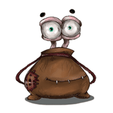 ANGRY BAG MONSTER sticker #11170655