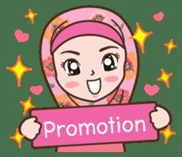 Hijab Girl Online Shop. Eng sticker #11183108