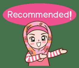 Hijab Girl Online Shop. Eng sticker #11183110