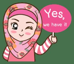 Hijab Girl Online Shop. Eng sticker #11183111
