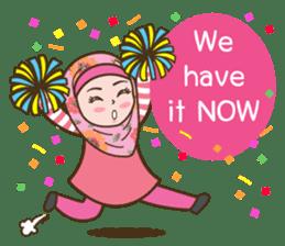 Hijab Girl Online Shop. Eng sticker #11183121
