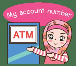 Hijab Girl Online Shop. Eng sticker #11183127