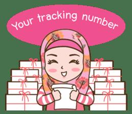 Hijab Girl Online Shop. Eng sticker #11183134