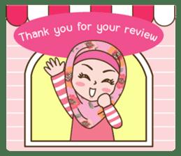 Hijab Girl Online Shop. Eng sticker #11183136