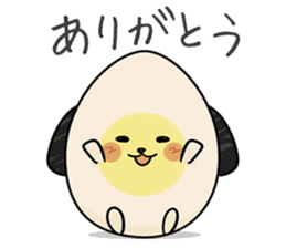 Eggdog sticker #11185630