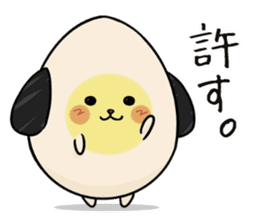 Eggdog sticker #11185642