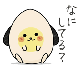 Eggdog sticker #11185645