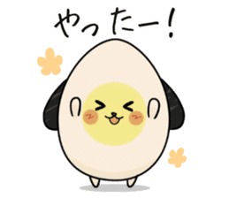 Eggdog sticker #11185648
