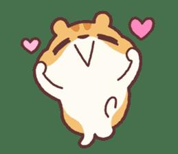Chloe the hamster 2 sticker #11186069