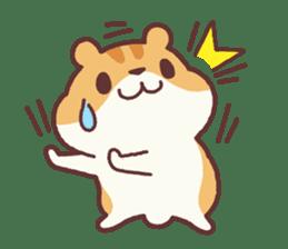 Chloe the hamster 2 sticker #11186071