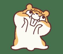 Chloe the hamster 2 sticker #11186080
