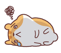 Chloe the hamster 2 sticker #11186083
