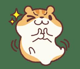 Chloe the hamster 2 sticker #11186087