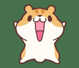 Chloe the hamster 2 sticker #11186090