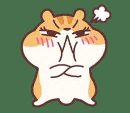 Chloe the hamster 2 sticker #11186095