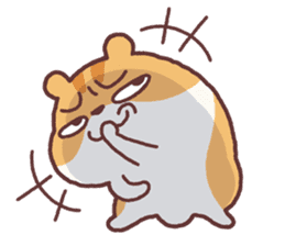 Chloe the hamster 2 sticker #11186098