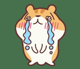 Chloe the hamster 2 sticker #11186099
