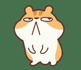 Chloe the hamster 2 sticker #11186100