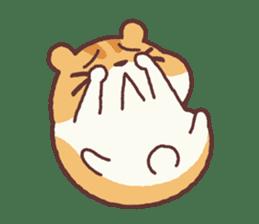 Chloe the hamster 2 sticker #11186101