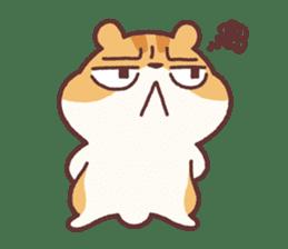 Chloe the hamster 2 sticker #11186102