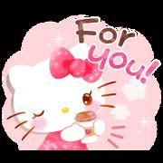 สติ๊กเกอร์ไลน์ Hello Kitty's Wonderful Watercolor