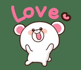 Bear to send When you become dear sticker #11197056