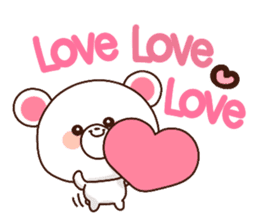 Bear to send When you become dear sticker #11197058