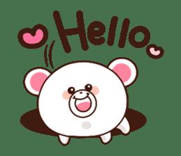 Bear to send When you become dear sticker #11197059
