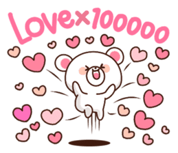 Bear to send When you become dear sticker #11197061