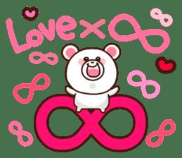Bear to send When you become dear sticker #11197062