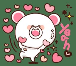 Bear to send When you become dear sticker #11197067