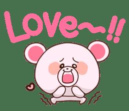 Bear to send When you become dear sticker #11197075