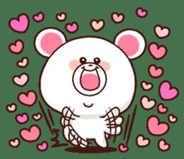 Bear to send When you become dear sticker #11197077