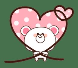 Bear to send When you become dear sticker #11197078