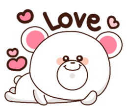 Bear to send When you become dear sticker #11197079