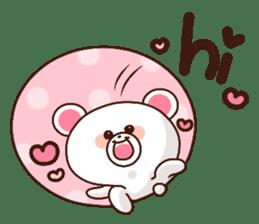 Bear to send When you become dear sticker #11197082