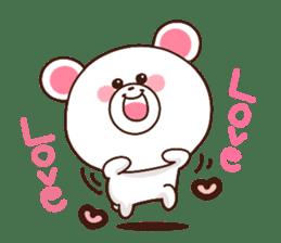 Bear to send When you become dear sticker #11197083